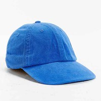 UO Washed Leather Strapback Hat
