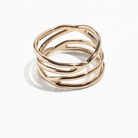 & Other Stories | Stacked Gold Ring | Gold