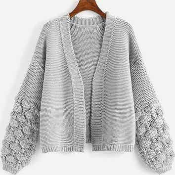 Bishop Sleeve Detailed Cardigan