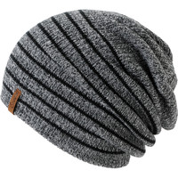 Empyre Girl Juliet Black Striped Beanie
