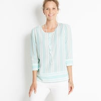 Whale Tail Stripe Top