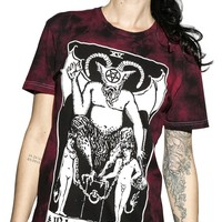 Tarot Blood Moon Dye | T-SHIRT UNISEX