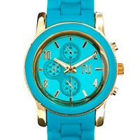 River Island Emily Silicone Watch at asos.com