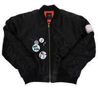 BADGE JACKET / BLACK - JOYRICH Store