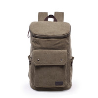 Back To School Comfort On Sale College Hot Deal Casual Outdoors Stylish Sports Unisex Canvas Big Capacity Camping Backpack [8845562823]