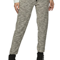 Girls French Terry Light Marled Jogger