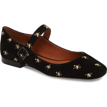 COACH Prairie Mary Jane Flat (Women) | Nordstrom
