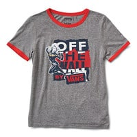 Vans x Marvel Captain Marvel Ringer Tee | Shop Womens Tees At Vans