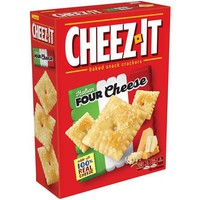 Cheez-It Italian Four Cheese Baked Snack Crackers, 12.4 oz - Walmart.com