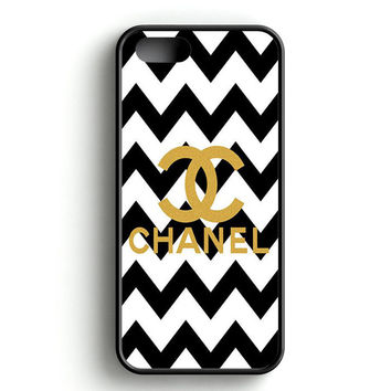 Gold Chanel Logo iPhone 5 | 5S Case