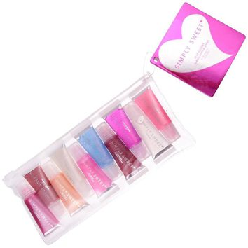 Simply Sweet 10 Pack Lip Gloss Tubes Case Pack 48