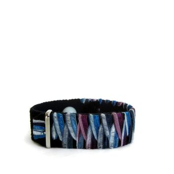 Anxiety/Stress Relief Bracelet (single band) Blue Rose