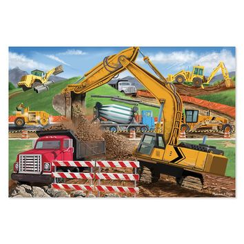 Melissa & Doug Building Site 48-pc. Floor Puzzle (Cardboard)