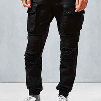 Destructed Cargo Jogger Pant