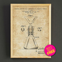 Science Equipment Patent Print Laboratory Equipment Blueprint Poster House Wear Wall Art Decor Gift Linen Print - Buy 2 Get FREE -311s2g