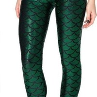 Mermaid Green Leggings Beyond the sea