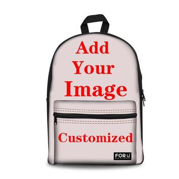 School Backpack FORUDESIGNS  for Girls Doxie Dachshund Sausage Dog Printing School Bags Children Backpacks Schoolbag Kids Bag AT_48_3