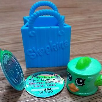 Shopkins Season 1 Limited Edition Tin'a'Tuna #284 of 500 RARE!