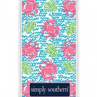 Simply Southern Crab Phone Case
