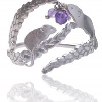 Playful field mouse rings