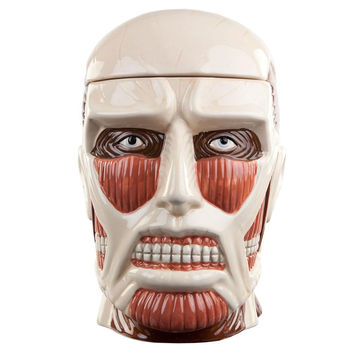Attack On Titan - Titan Head Lidded Cookie Jar
