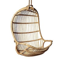Hanging Rattan Chair | Serena & Lily