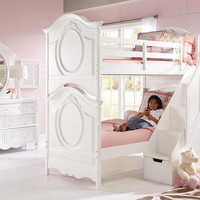 Fiona Twin over Twin Stairway Bunk Bed