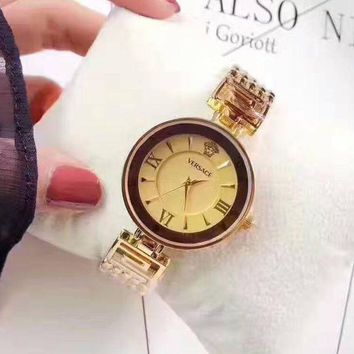 DCCKNQ2 Versace Women Fashion Quartz Movement Watch WristWatch7
