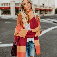 Harvest Season Knit Cardigan