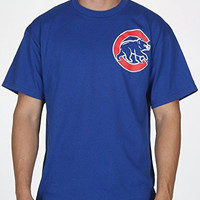 Chicago Cubs Men's Wordmark Shirt (Medium)