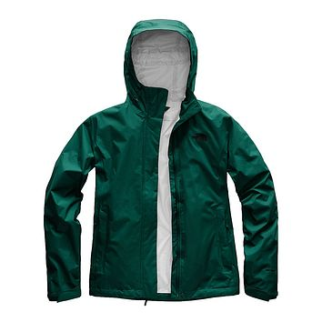 Women's Venture 2 Jacket in Botanical Garden Green by The North Face