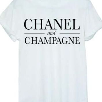 Foi Clothing Boutique — Chanel and Champagne Tee