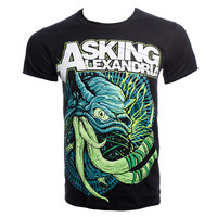 Asking Alexandria Tusks t shirt, Black band t shirt, AA merchandise UK