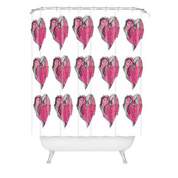 Ingrid Padilla Hearts Shower Curtain