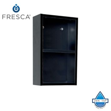 Fresca Bathroom Linen Side Cabinet w/ 2 Open Storage Areas