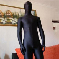 A Women Men Lycra Full Body Zentai Suit Skin Tight Suits Spandex Nylon Bodysuit Halloween Costume For Women Men