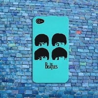 Pretty Cool Mint Cute Beatles Music Phone Case iPhone Custom Cover Rock Band Fun