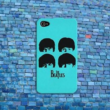 Pretty Cool Mint Cute Beatles Music Phone Case iPhone 4 4s 5 5s 5c 6 6s + Cool