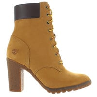 "Timberland Earthkeepers Glancy 6"" - Wheat Nubuck Lace-Up Boot"