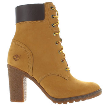 """Timberland Earthkeepers Glancy 6"""" - Wheat Nubuck Lace-Up Boot"""