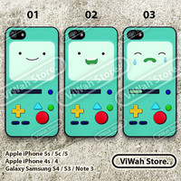 Adventure time bmo iPhone 5 Case,Adventure time Beemo iPhone 5 5c 5s Hard Case Rubber Case,cover skin case for iphone 5/5c/5s case