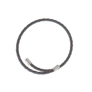 Guitar String Bracelet / Graphite
