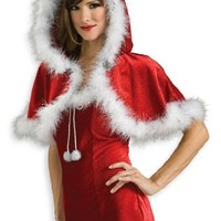 Secret Wishes Woman's Christmas Capelette