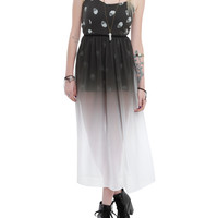 Iron Fist Skull A Dot Ombre Dress