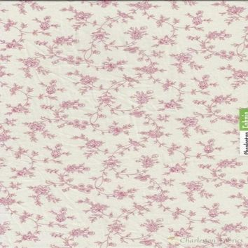 Braemore Fabric- Pink Toile