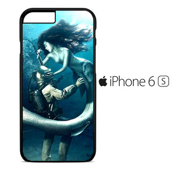 Diver and The Mermaid iPhone 6S Case