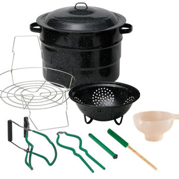 Granite Ware 0718-1 Enamel-on-Steel Canning Kit 9-Piece 9 Piece Set