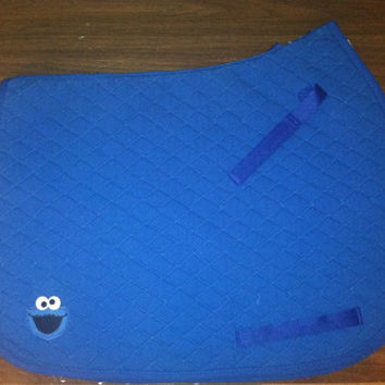 Cookie Monster Saddle Pad