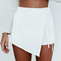 unique casual white skirt for wome girl gift 76