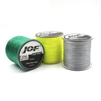 100m 8 Strands PE Braided Fishing line Super Strong Japan Multifilament Fishing Line Carp Fishing Saltwater 20-60LB